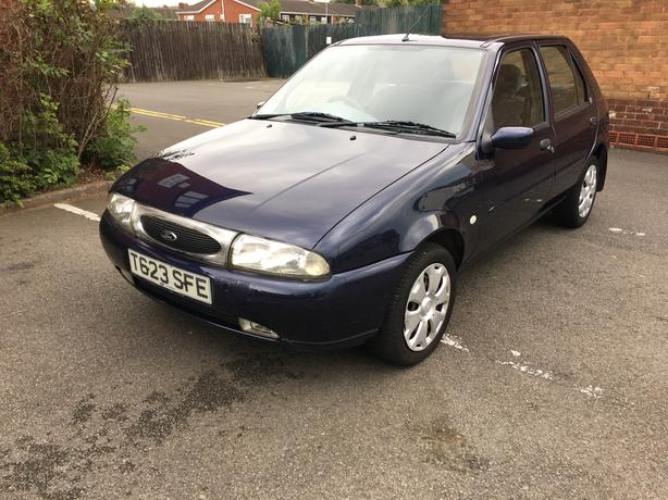 Ford Fiesta 1.3 ghir, 5dr long mot, very good condtion