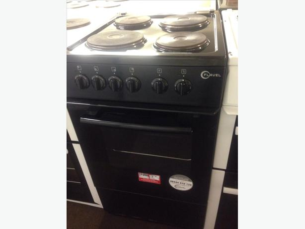 FLAVEL ELECTRIC COOKER 50CM PLATED TOP1
