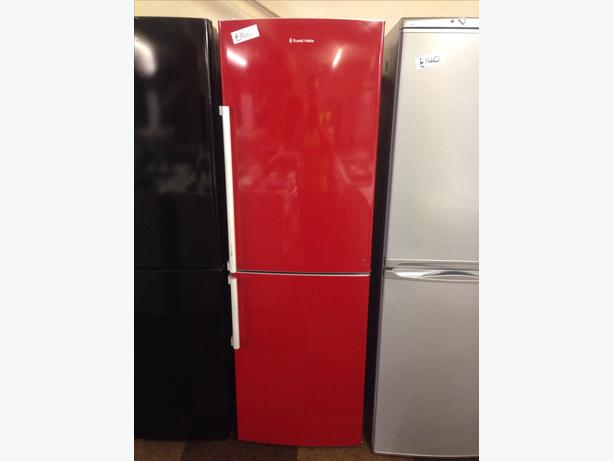 RED FRIDGE FREEZER RUSSELL HOBBS2