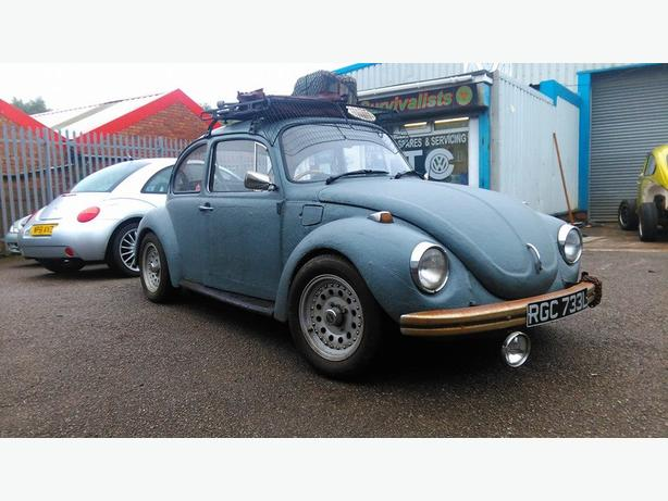 Classic vw beetle rat look tax free