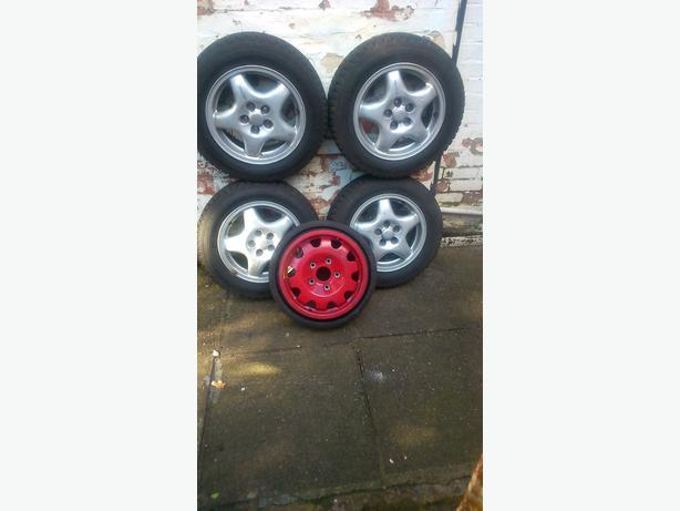 185 R65 15 inch alloy subro