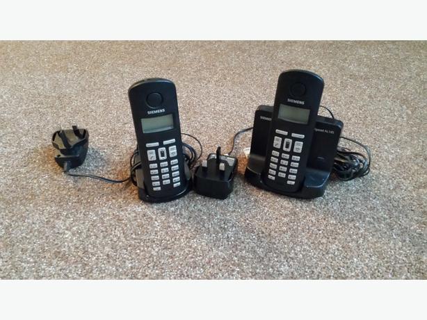 double cordless telephone
