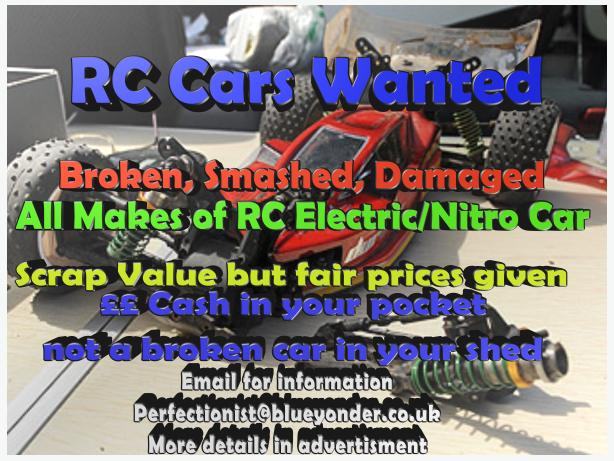 RC Cars Wanted - Nitro Electric Petrol