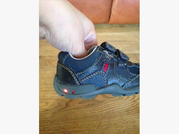 Boys Blue Clarks Shoes