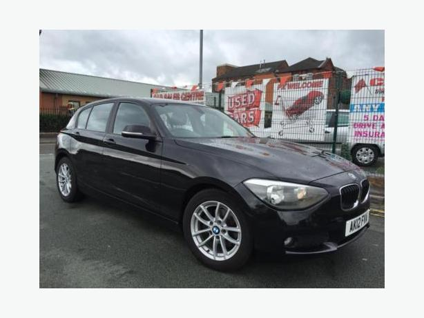 BMW 1 SERIES 118D 2.0TD 2012 SE BLACK 5DR + £30 ROAD TAX + 2 KEYS + HPI CLEAR