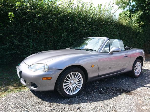 2005 Mazda Mx-5 Arctic 1.8 mk2.5 leather alloys full service history aircon