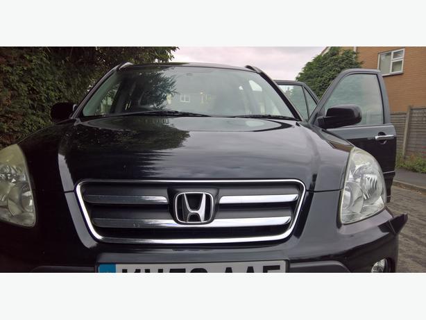 Honda CRV 2007 2.2 Diesel Black service history /12 months MOT. Totally reliable