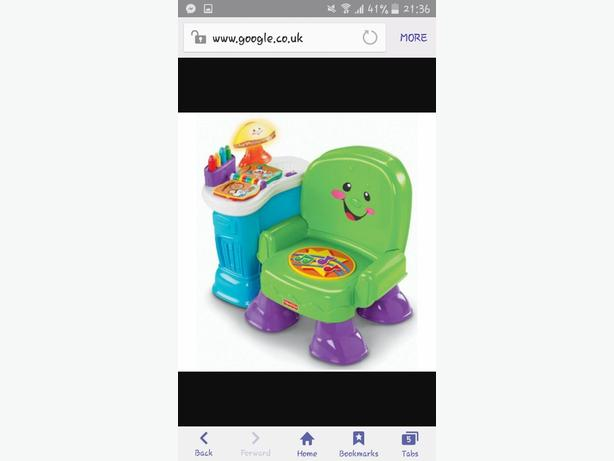 fisher price chair and thomas ride on