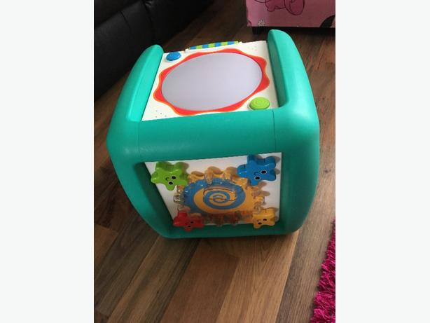 childrens activity cube