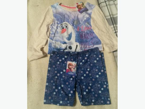 girls frozen top & leggings bnwt