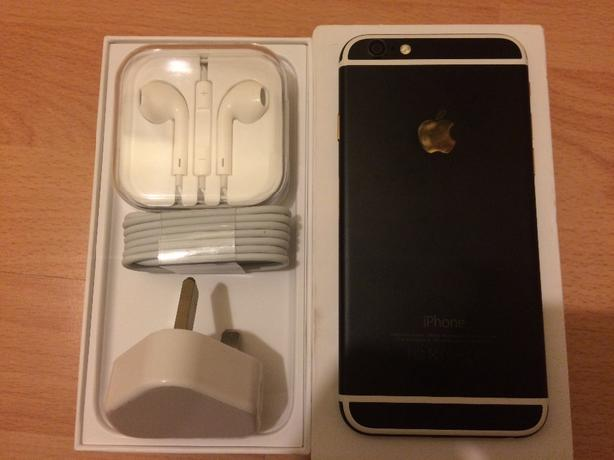 iphone 6 16gb bkack edition as new