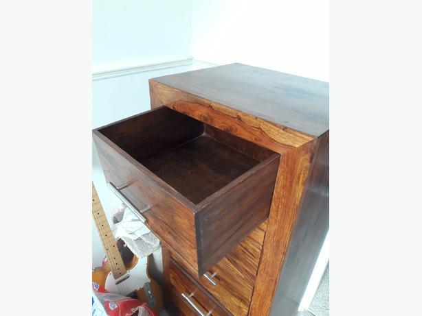 tall 5 draw cabinet