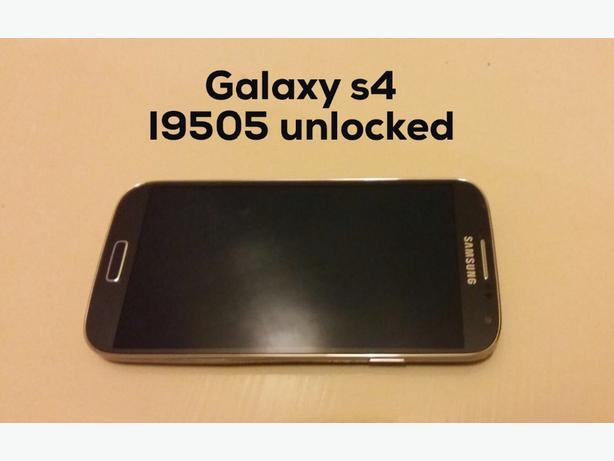 samsung galaxy s4 i9505 black unlocked