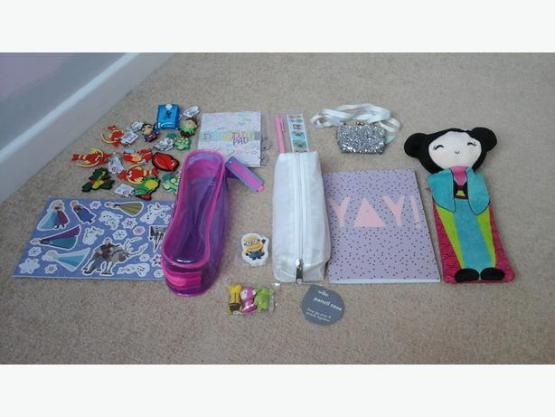 Kids stationery  bundle/party bag goodies/party prizes - new