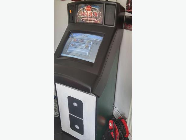 mega touch games machine