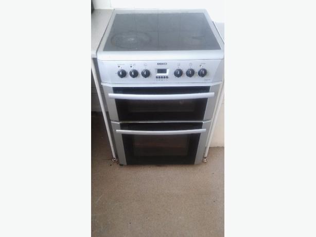 beko double electric oven