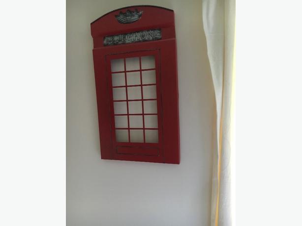 metal wall art phone box