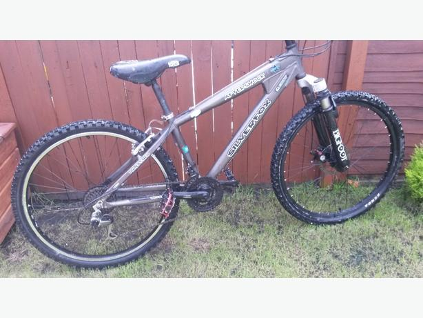 Mountain bike silverfox medium size