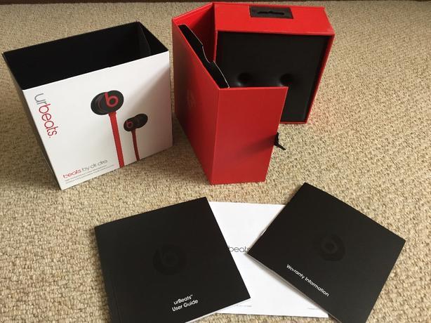 NEW Ur Beats BOX and accessories (No headphones)