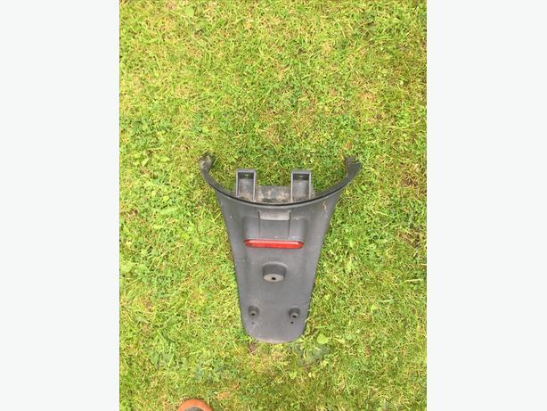 Piaggio Zip Rear plate holder