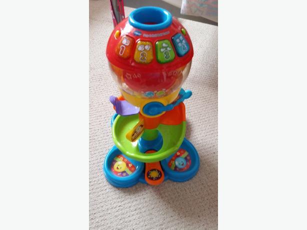 vtech pop and roll ball tower