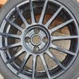 multispoke black ford alloys