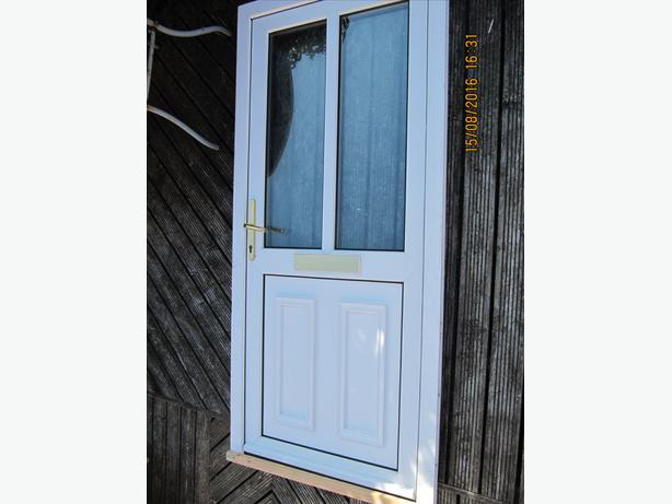 upvc door w935mm height 2060mm open out shed /mancave /summer house ect