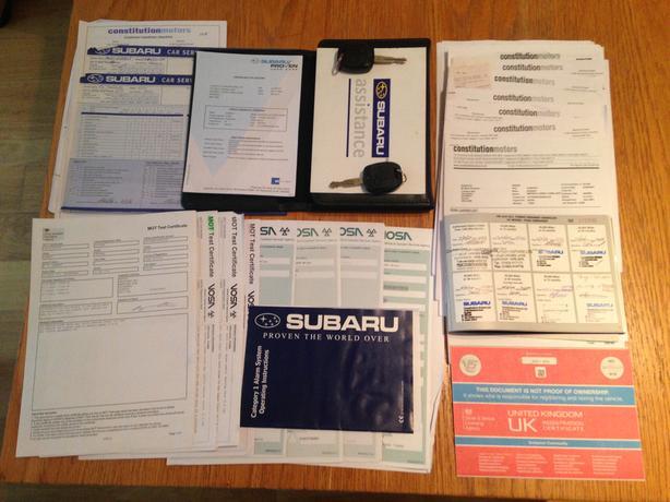 Subaru WRX ppp