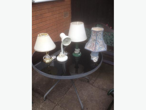 All Working Lamps £5.00