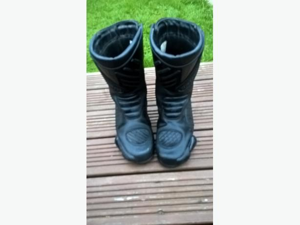 hein gericke motorcycle boots excellent condition