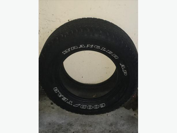 Part Work Tyre (255/65R16) - Frontera