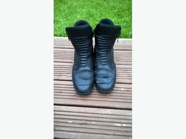 Sheltex Bullson motorcycle boots