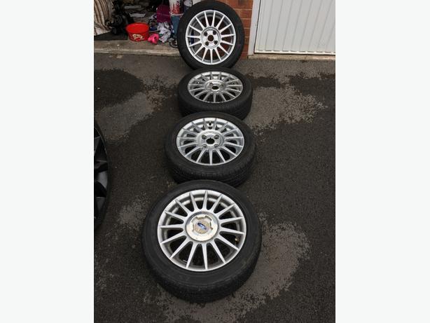 Ford Fiesta MK5 Zetec S Wheels