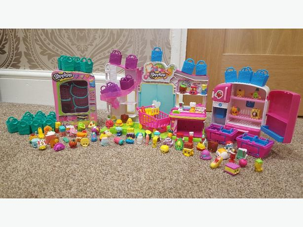 shopkins and play sets