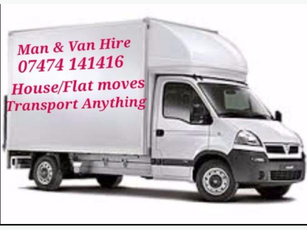 Man and van, removals, transport, van hire