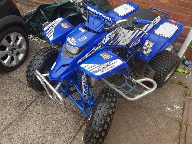 yamaha blaster race quad 200cc powerbanded 2 stroke