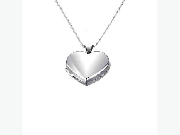 Sterling Silver 925 Heart Locket