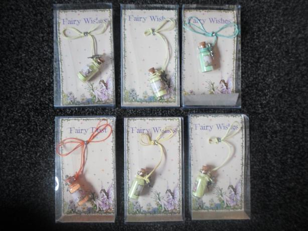 fairy dust pendants 3pound each