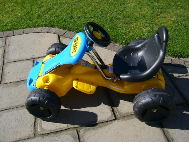 Battery Powered Go Kart