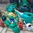 BARGAIN job lot of watering cans