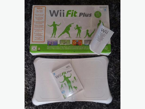 Wii fit board plus