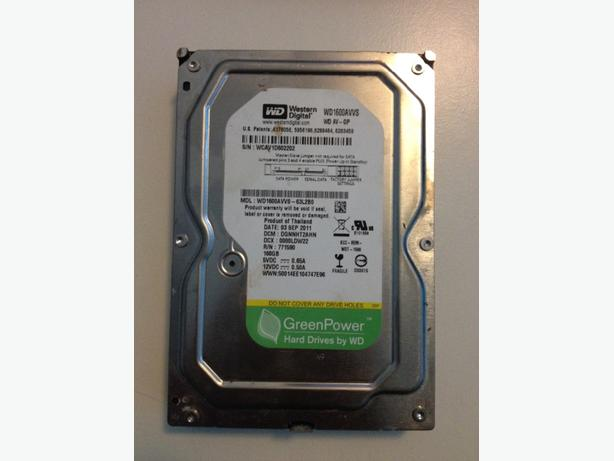 160gb hdd sata 3.5