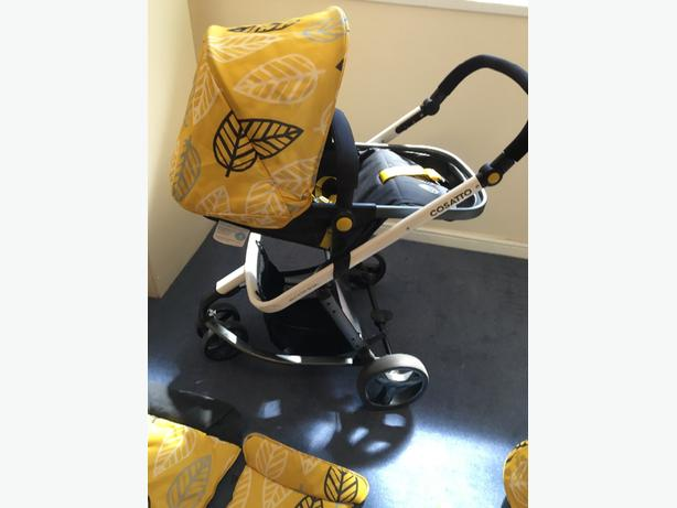 cossato giggle 3 in 1 travel system
