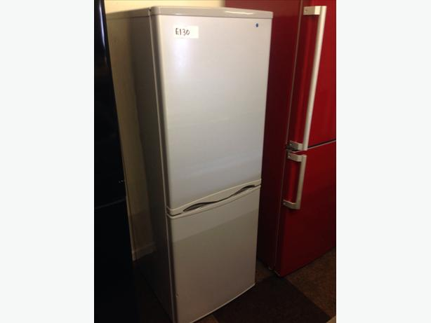 SILVER FRIDGE / FREEZER 3 DRAWS