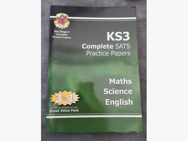 CGP Complete SATS Practice Papers KS3