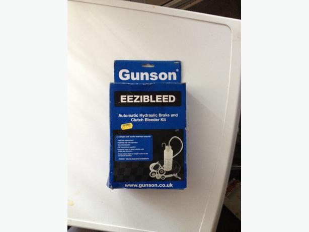 gunson eziebleeder kit