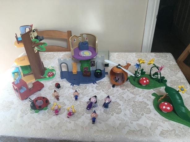 Ben and holly toys