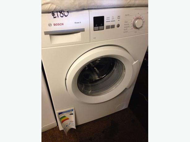 NEW BOSCH WASHING MACHINE 6KG 1400 SPIN0