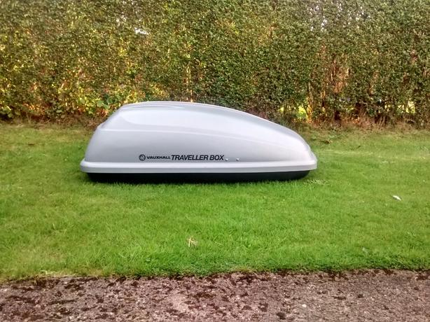 Genuine Vauxhall Roof Box