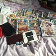 Nintendo 2DS White & Red, Nintendo DSI XL Wine Red